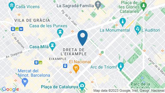 Hotel EuroPark Map