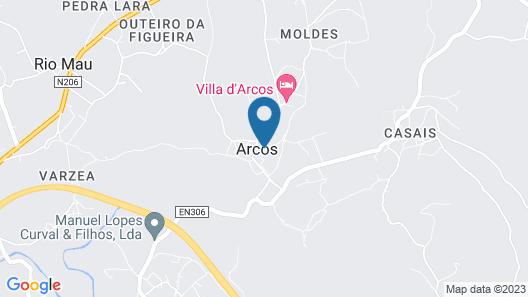 Quinta São Miguel de Arcos Map