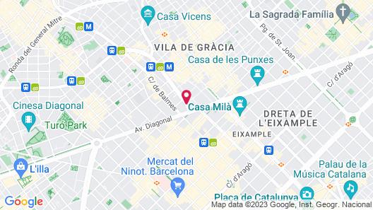Hotel Balmoral Map
