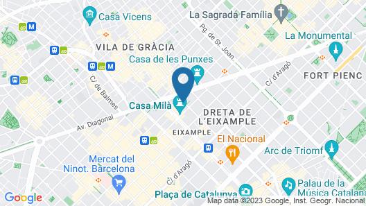 H10 Casa Mimosa Map