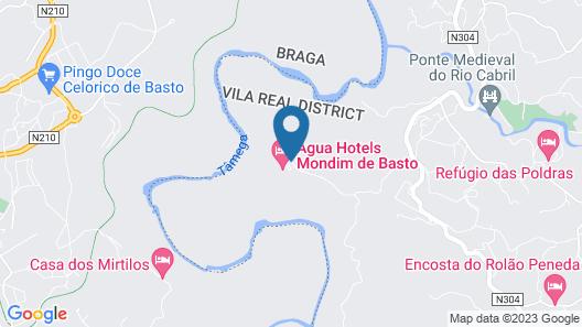Água Hotels Mondim de Basto Map