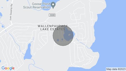 Three Little Birds Lake House: Luxury Lake Front Retreat Near Lake Wallenpaupack Map