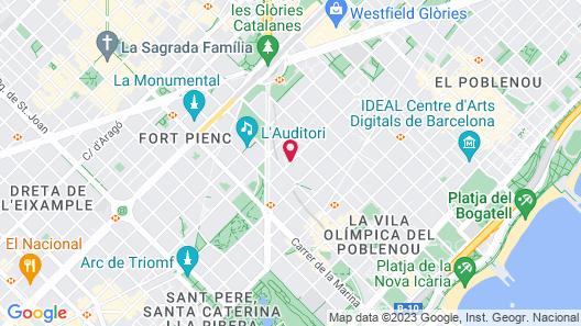 Capri by Fraser Barcelona Map
