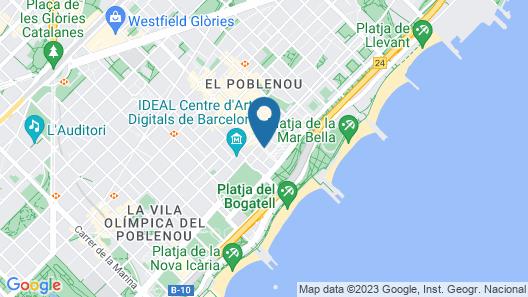 Lugaris Rambla Map
