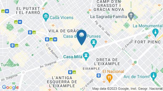 Casa Bella Gracia Map