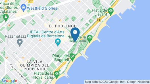 Urban Districs Apartments Rambla Suite & Pool Map