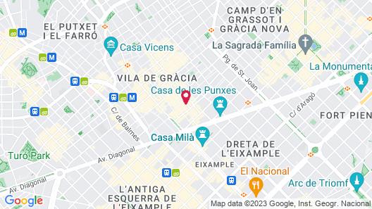City Center Apartments Map