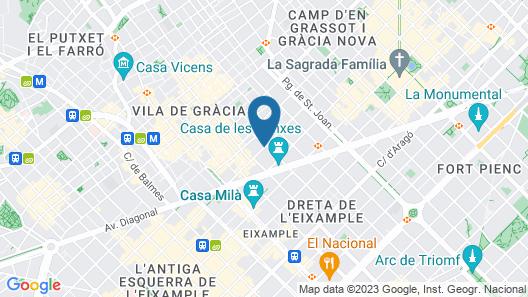 Generator Barcelona Map