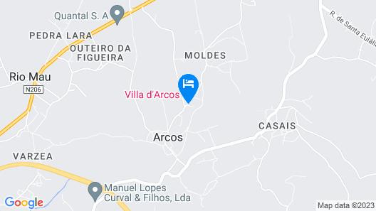 Villa D'Arcos Map