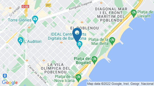 Hotel ILUNION Barcelona Map