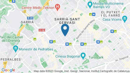 Tres Torres Atiram Hotel Map