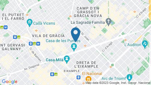 Yeah Barcelona Hostel Map
