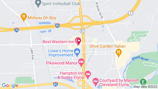 Country Inn & Suites by Radisson, Elyria, OH Map