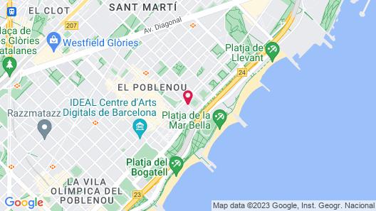 Eurohotel Diagonal Port Map