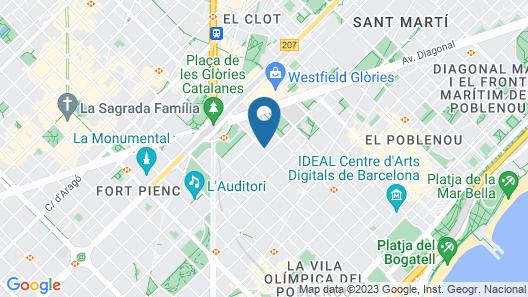 Hotel SB Glow Map