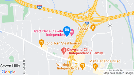 Hyatt Place Independence Map