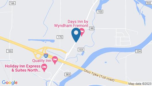 Days Inn by Wyndham Fremont Map
