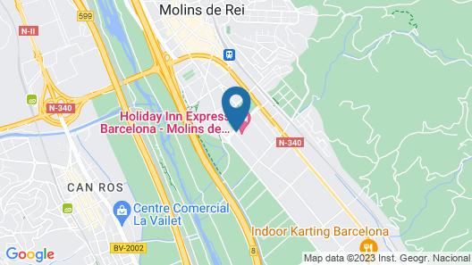Holiday Inn Express Barcelona - Molins de Rei, an IHG Hotel Map