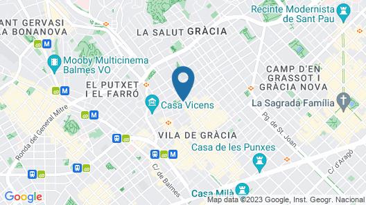 Bonavista Apartments - Virreina Map