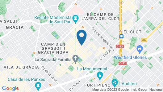 AB Sagrada Familia Premium Map