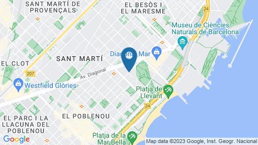 Vincci Maritimo Map