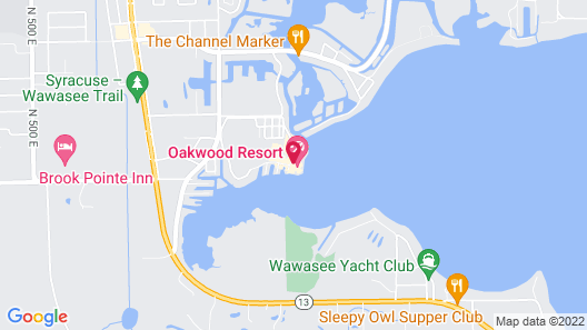 Oakwood Resort Map
