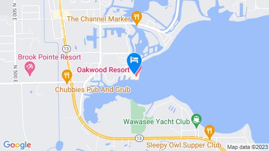Oakwood Resort Map