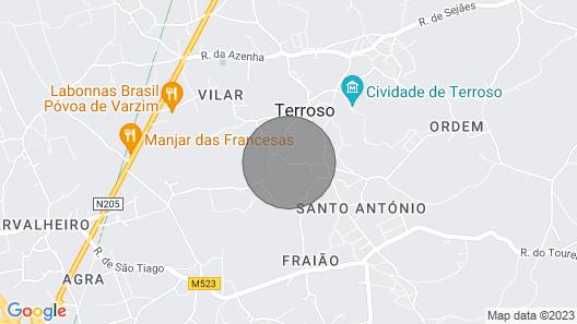 Pedreira Villa, Sleeps 10 With Pool and Wifi Map