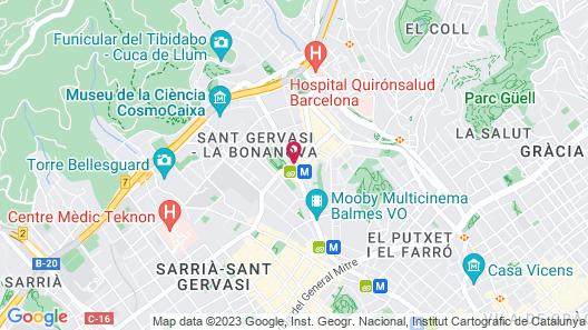 ABaC Restaurant & Hotel Map