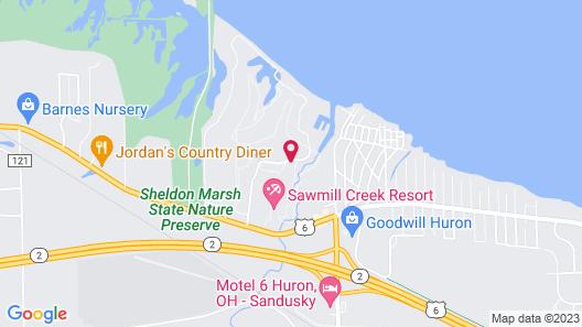 Sawmill Creek by Cedar Point Resorts  Map