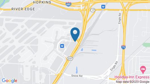 Sheraton Cleveland Airport Hotel Map
