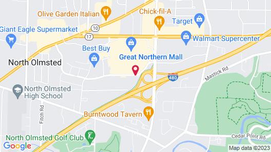 La Quinta Inn & Suites by Wyndham Cleveland Airport West Map