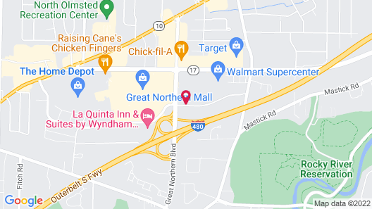 Radisson Hotel Cleveland Airport West Map