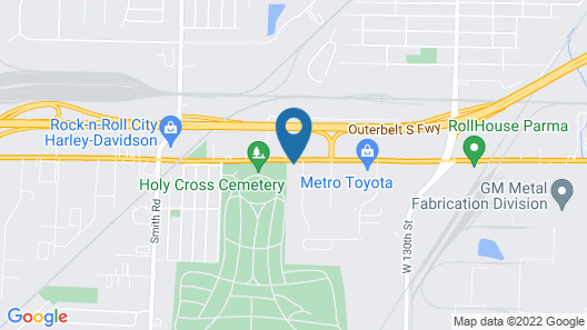 Travelodge by Wyndham Cleveland Airport Map