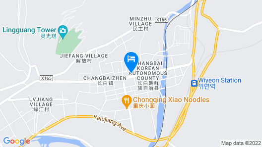 Wyndham Garden Changbaishan Hot Spring Resort by Wyndham Map