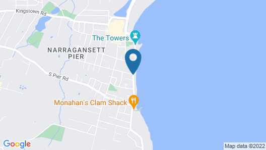 The Shore House Map