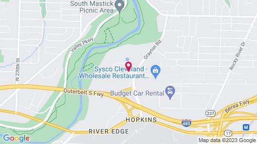 Hilton Garden Inn Cleveland Airport Map