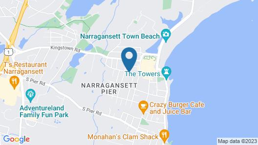 Blueberry Cove Inn Map