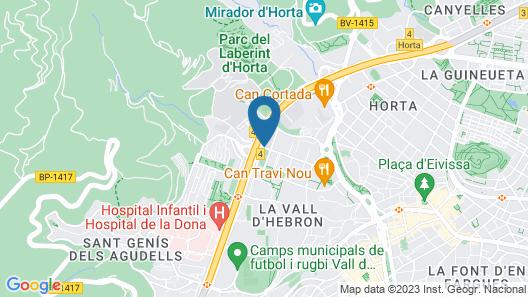 Hotel Alimara Map