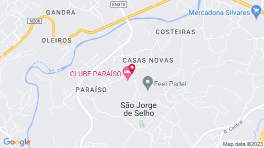 Encosta do Paraíso – Apartamentos Turísticos Map