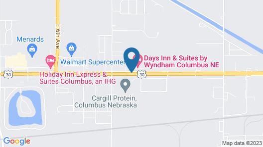 Days Inn & Suites by Wyndham Columbus NE Map