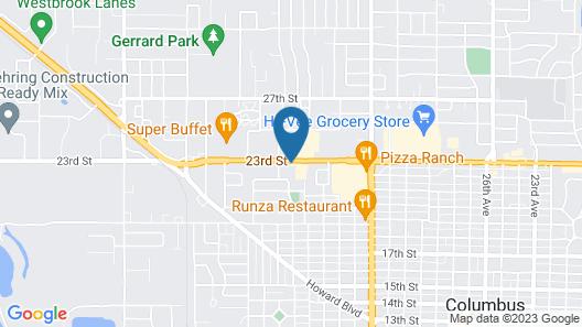 Econo Inn Map