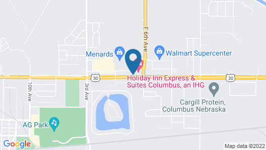 Holiday Inn Express Hotel & Suites Columbus, an IHG Hotel Map