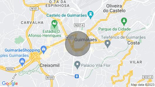 Casa da Cera da Porta da Vila Map