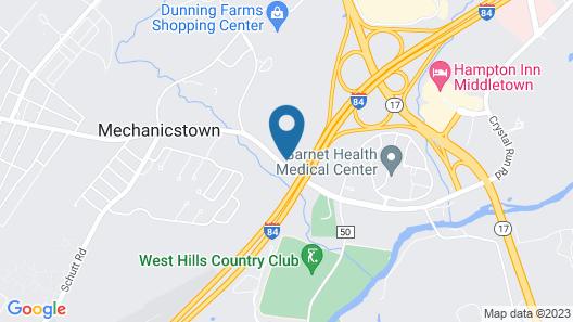 Holiday Inn Express & Suites Middletown - Goshen, an IHG Hotel Map