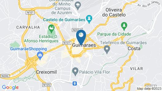 Hotel da Oliveira Map