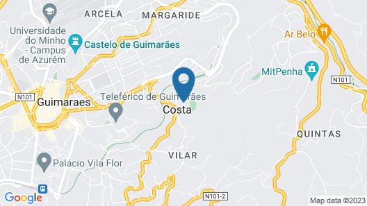 Pousada Mosteiro de Guimarães - Monument Hotel Map