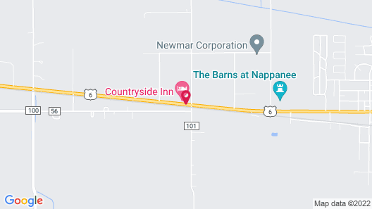 CountrySide Inn Map