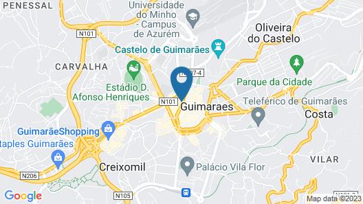 Guimarães IN Map