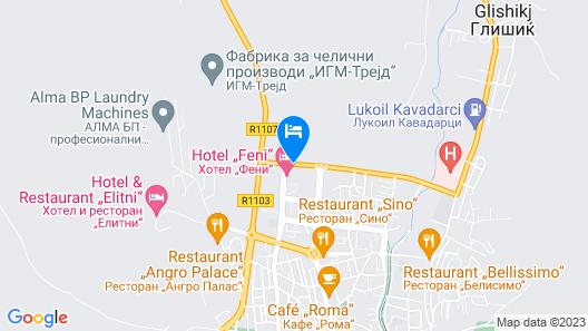 Hotel Feni Map